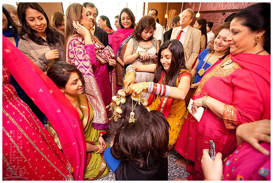 New York City Indian Wedding Chura Ceremony