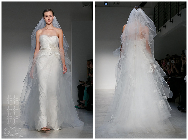 Christos Bridal collection Spring 2013 NYC