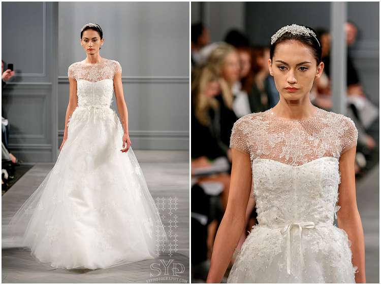 SYPhotography Monique Lhuillier bridal Spring 2014