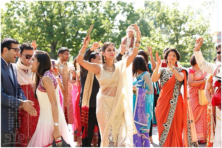 Princeton NJ Indian wedding baraat