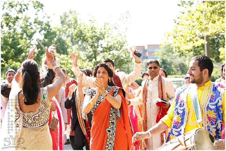 NJ Indian wedding baraat