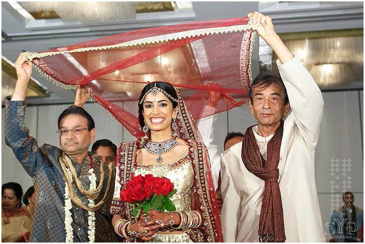 NJ Indian wedding ceremony Princeton Hyatt