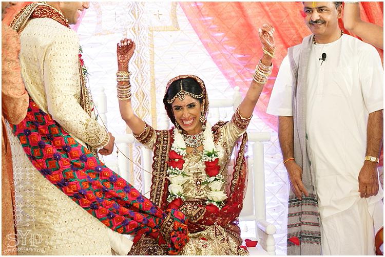 Hyatt Princeton NJ Indian wedding ceremony