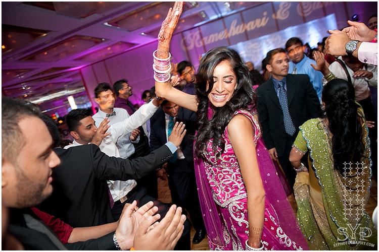 Hyatt Princeton Indian Wedding Dance Bride